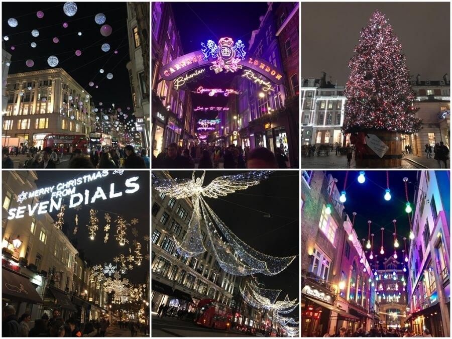 倫敦聖誕街景