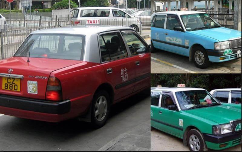 香港的交通工具