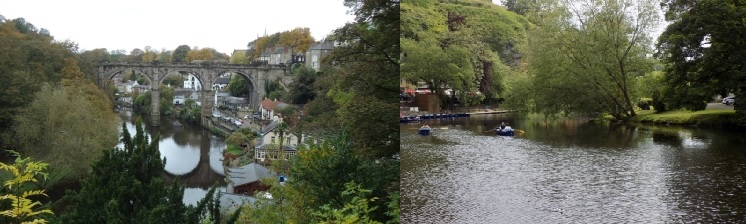 美麗小鎮- Knaresborough