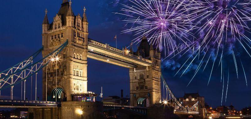 英國的新年