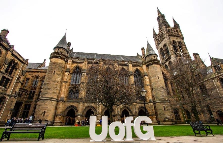 選擇到University of Glasgow就讀