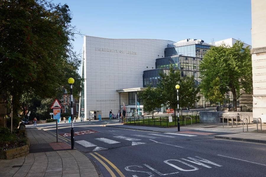 錄取 University of Leeds