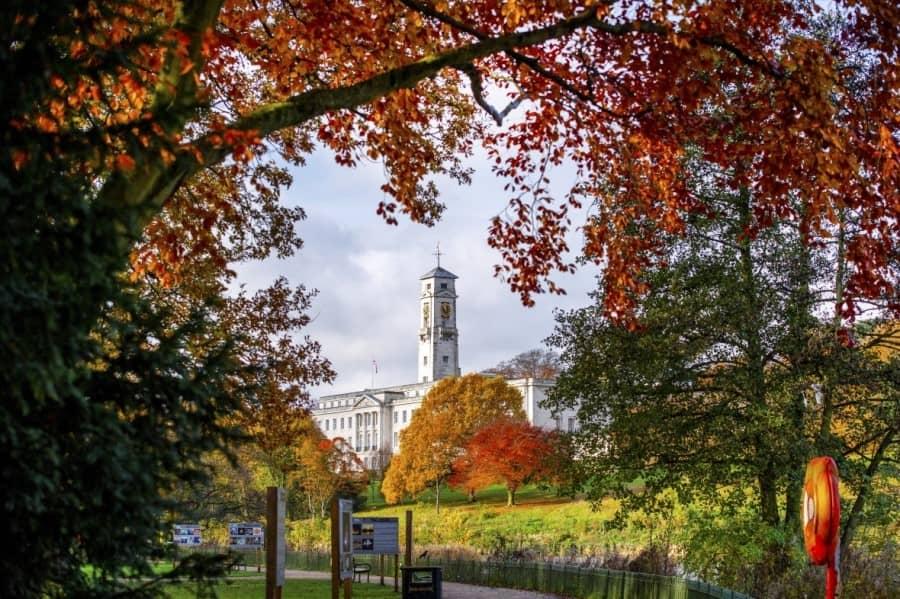 錄取 University of Nottingham