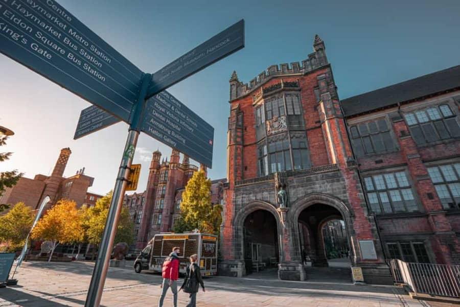 錄取 Newcastle University